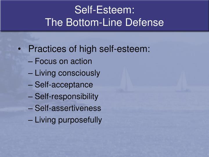 Self-Esteem: