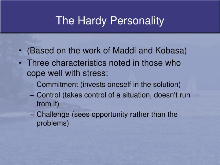 The Hardy Personality