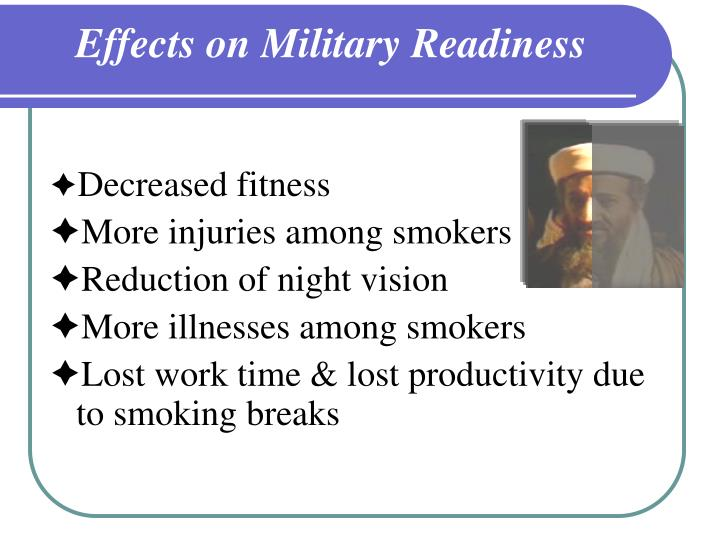 Effects on Military Readiness
