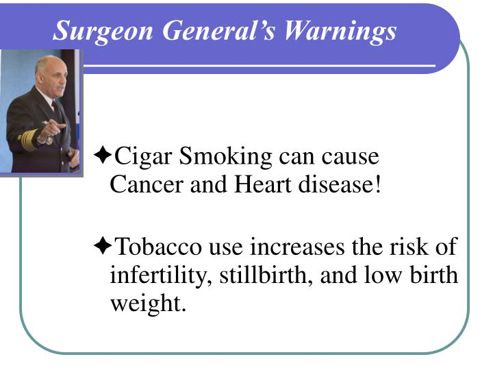 Surgeon General's Warnings