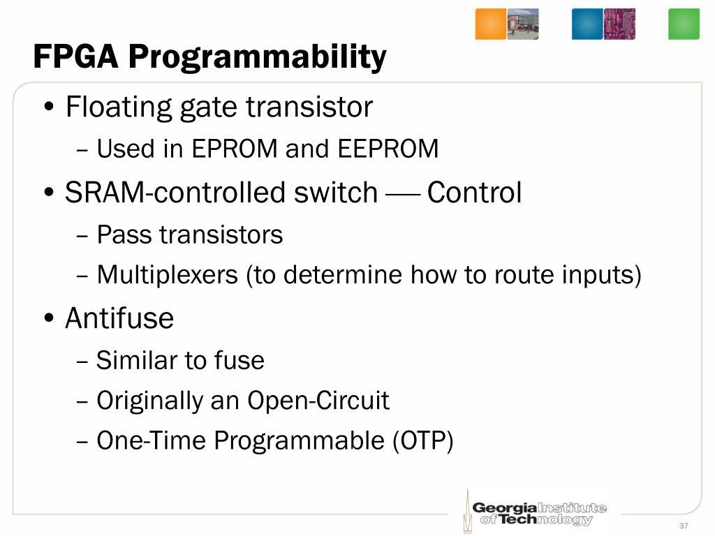 FPGA Programmability