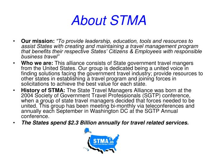 About STMA