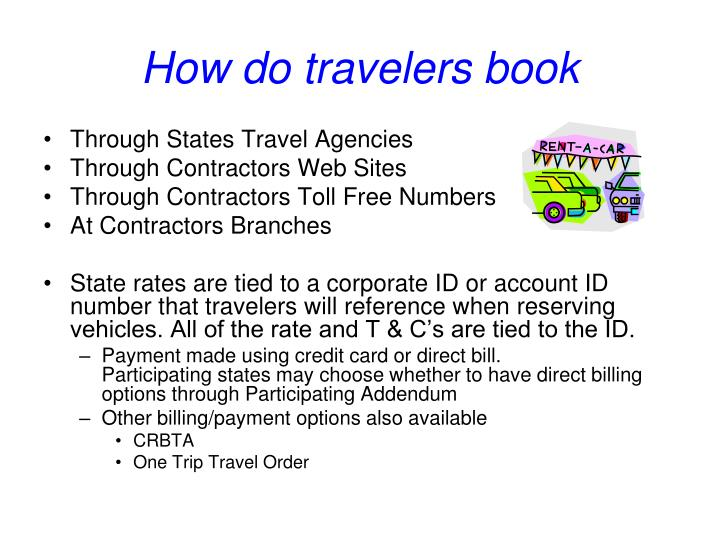 How do travelers book