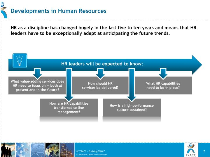 Developments in Human Resources