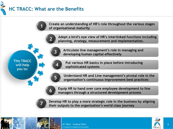 HC TRACC: What are the Benefits