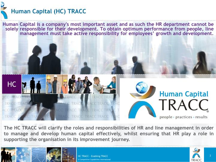 Human Capital (HC) TRACC