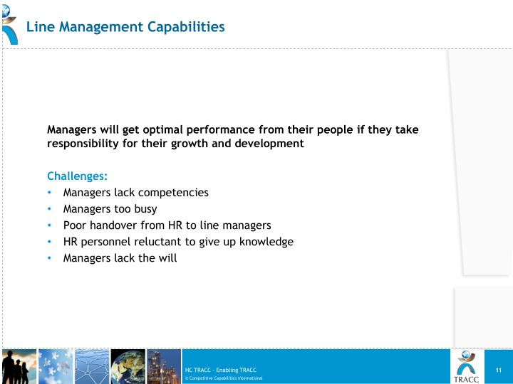 Line Management Capabilities