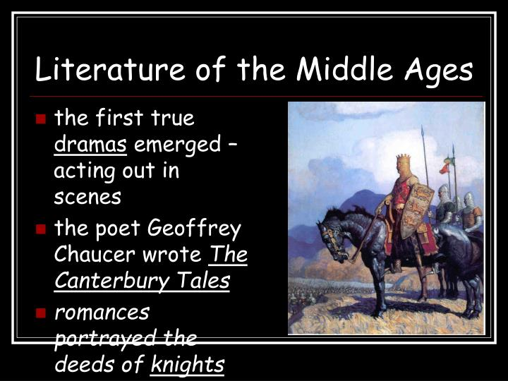 Literature of the Middle Ages