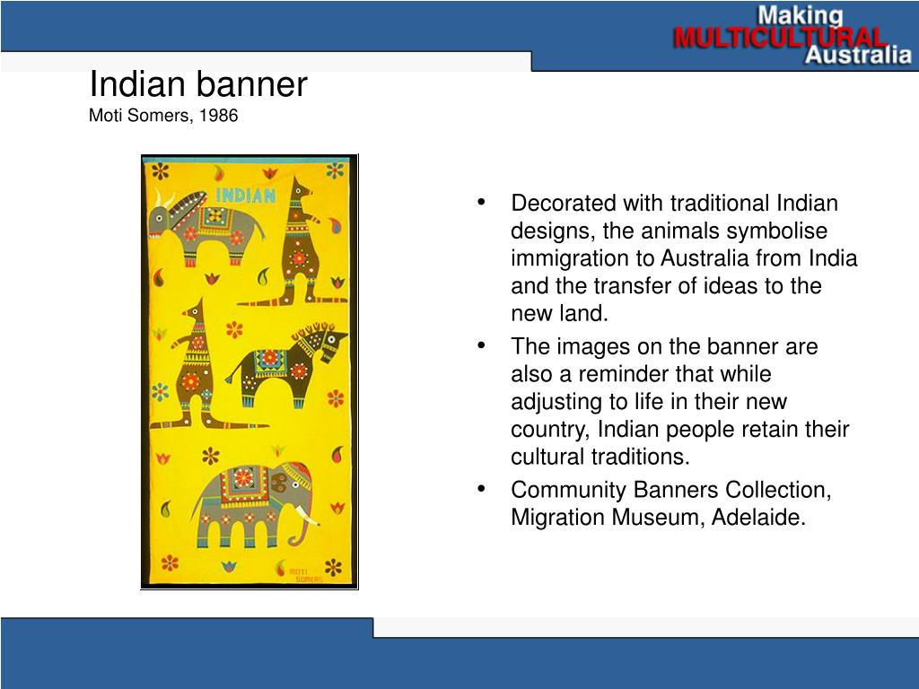 Indian banner
