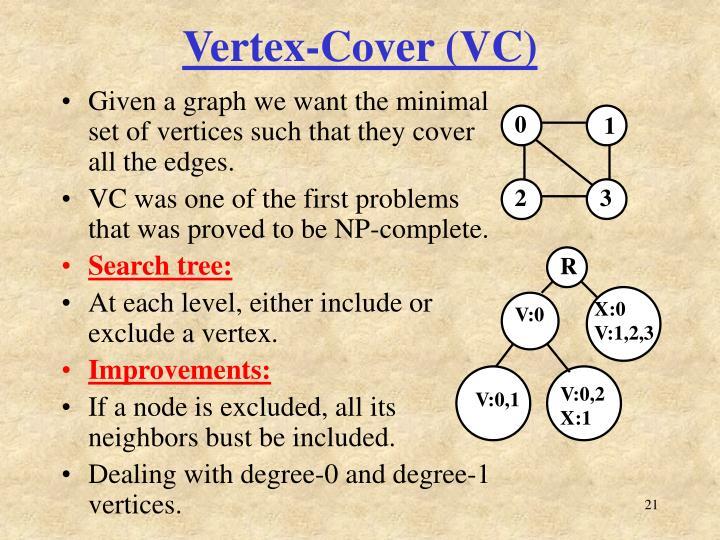Vertex-Cover (VC)
