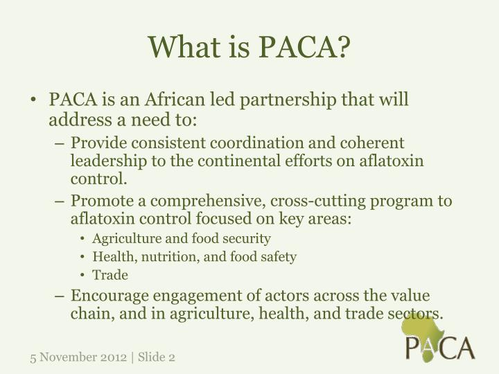 What is paca