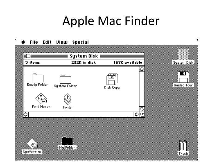 Apple Mac Finder