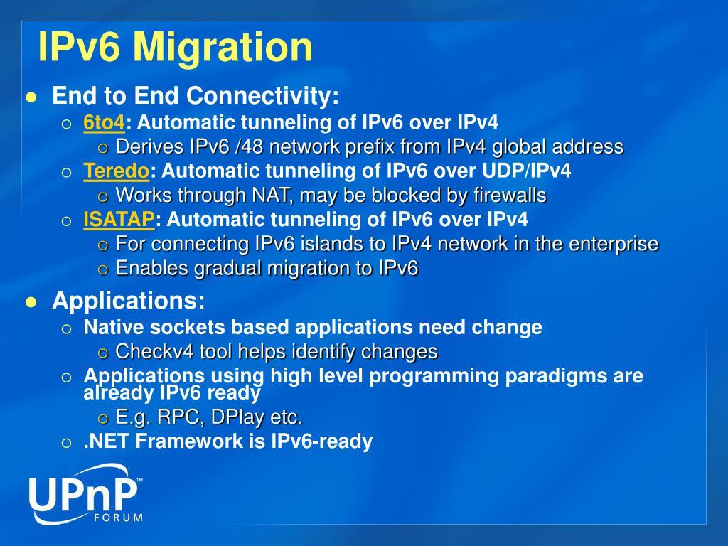 IPv6 Migration