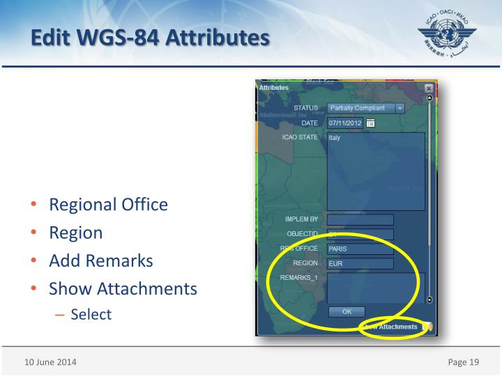 Edit WGS-84 Attributes