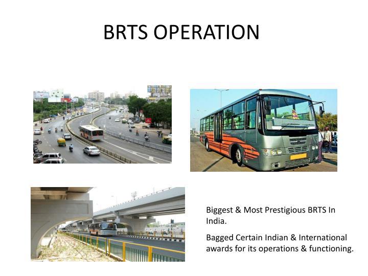 BRTS OPERATION