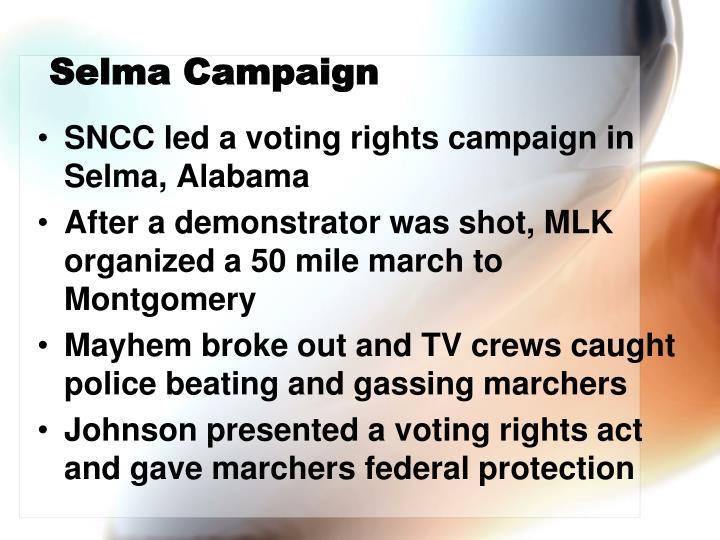 Selma Campaign