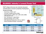 isl60002 industry s lowest power vref