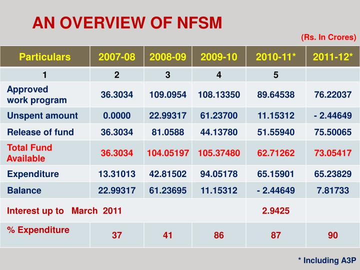 AN OVERVIEW OF NFSM