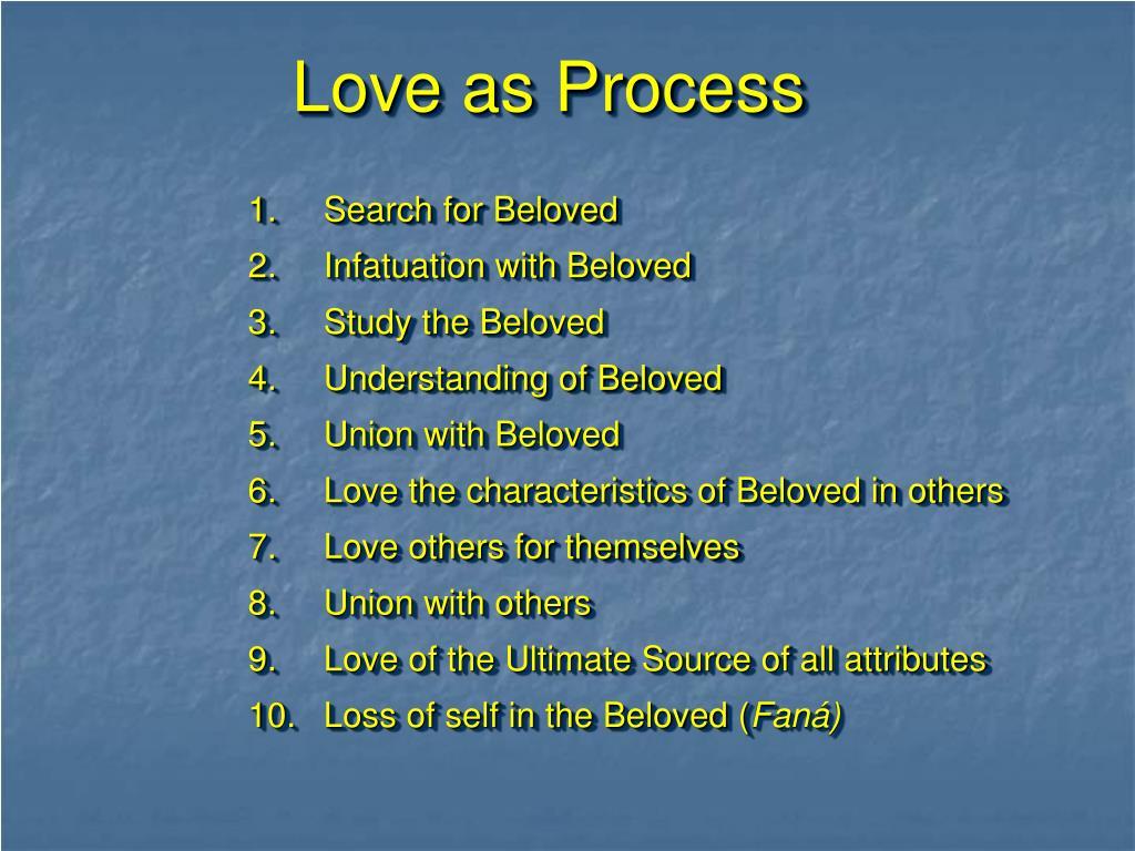 Love as Process