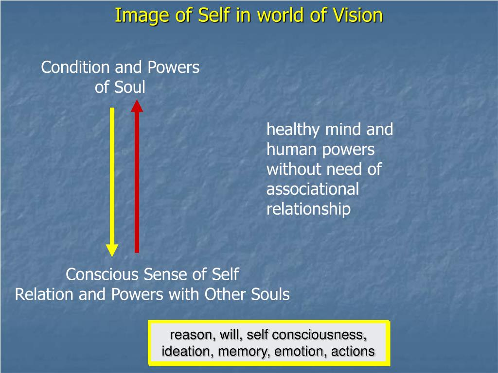 Image of Self in world of Vision