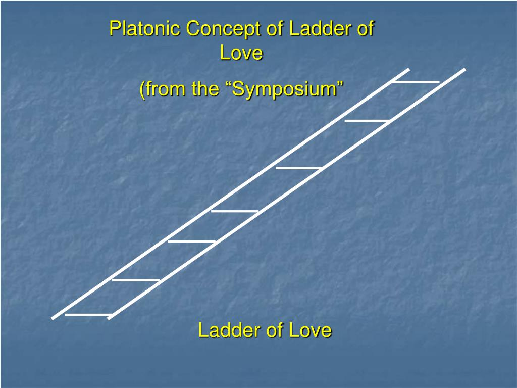 Platonic Concept of Ladder of Love
