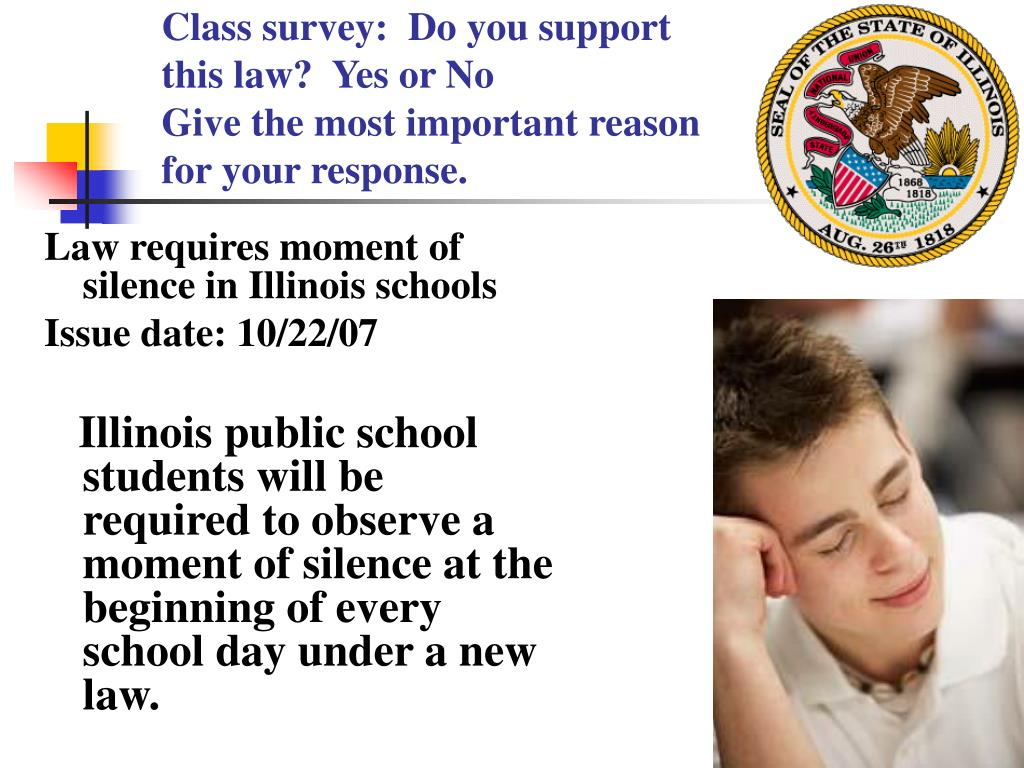 Class survey:  Do you support