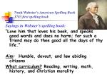 noah webster s american spelling book 1783 first spelling book62