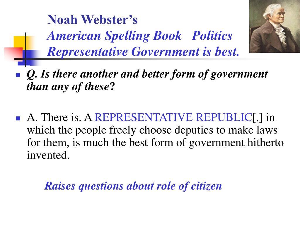 Noah Webster's