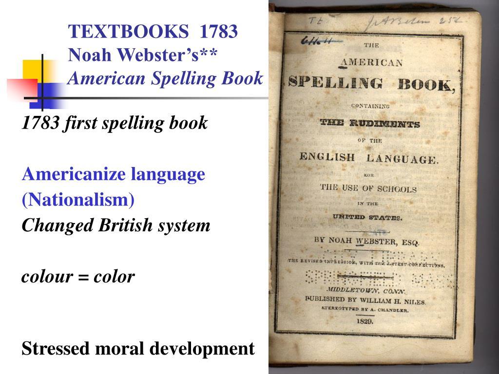 TEXTBOOKS  1783