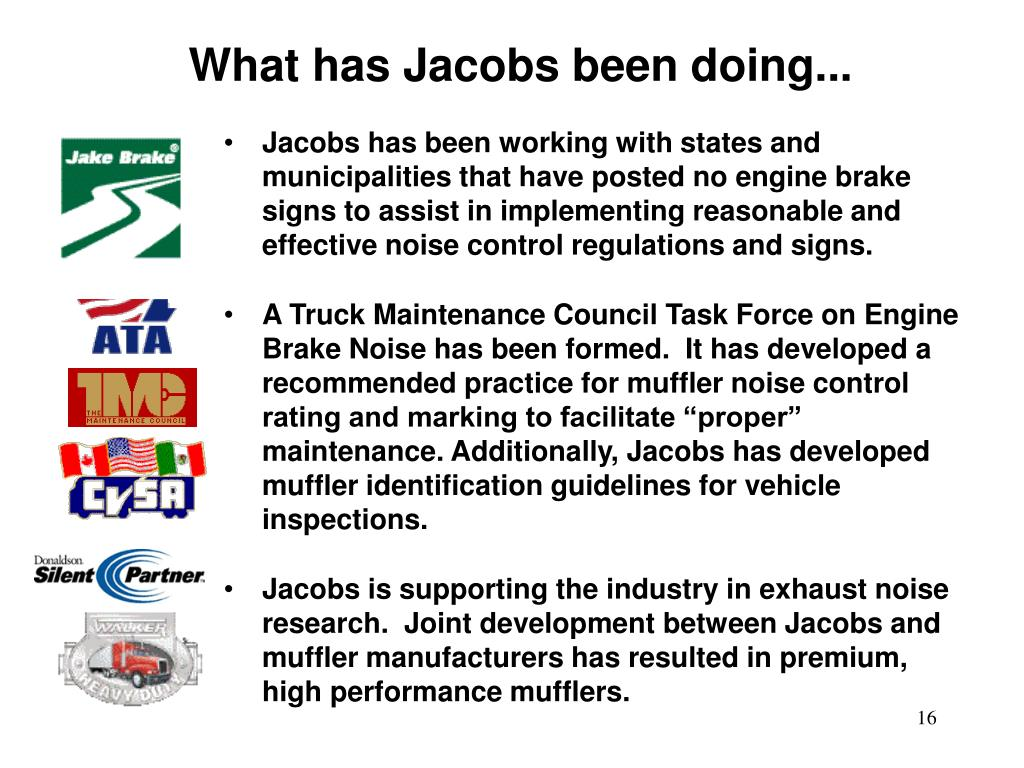 What has Jacobs been doing...