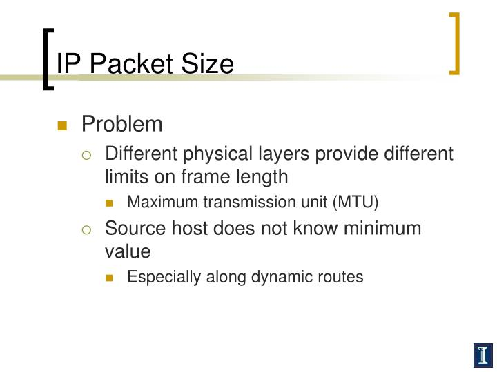 IP Packet Size