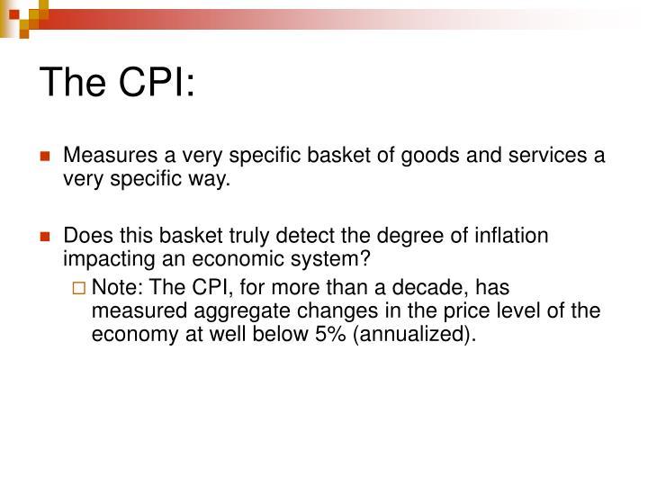The CPI:
