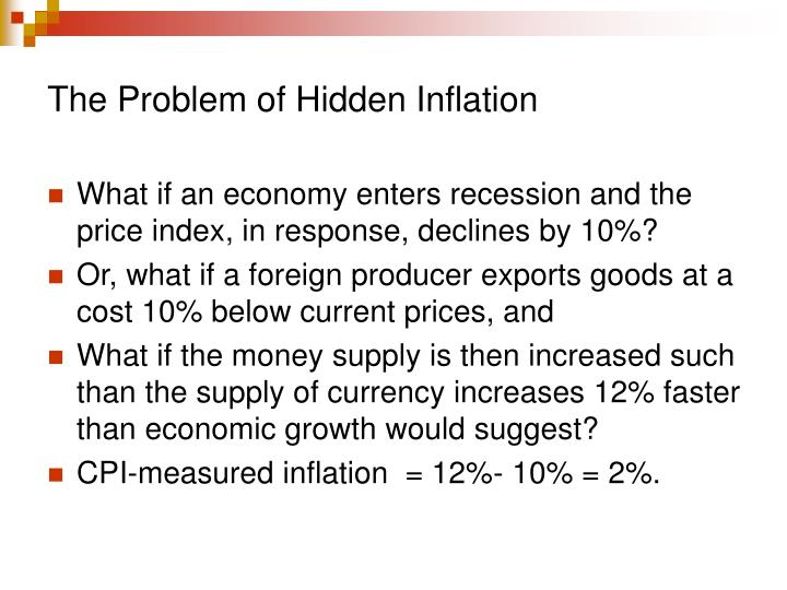 The Problem of Hidden Inflation