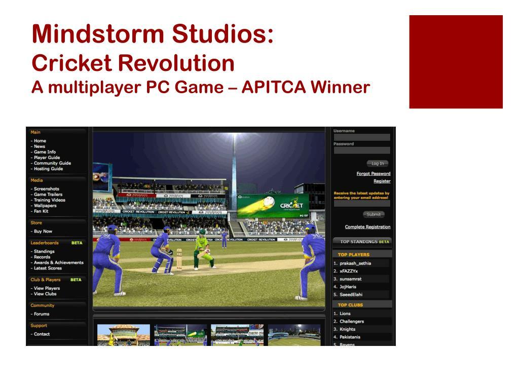 Mindstorm Studios: