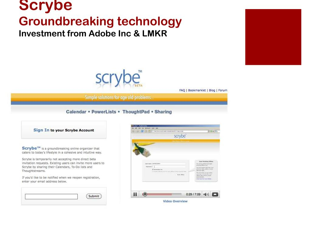 Scrybe