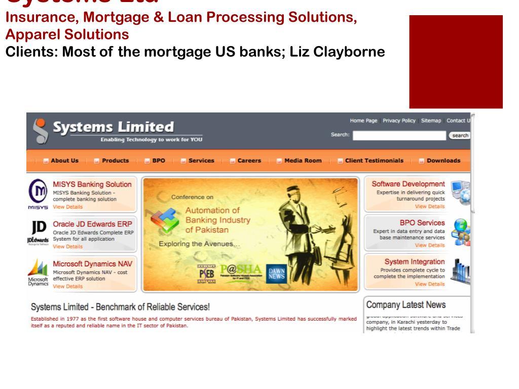 Systems Ltd