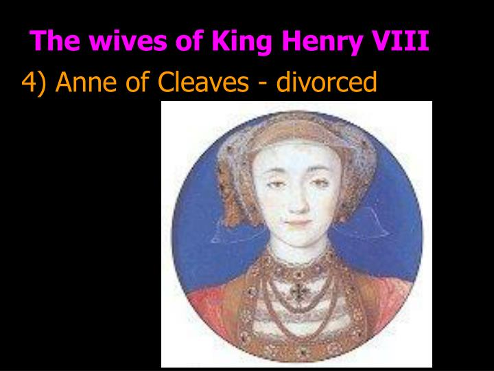 The wives of King Henry VIII