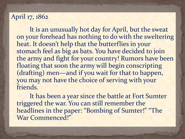 April 17, 1862
