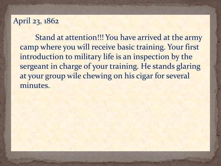 April 23, 1862