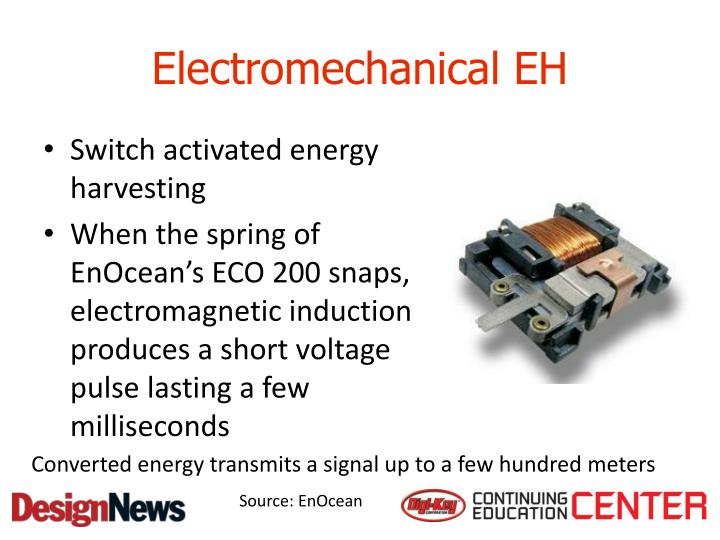 Electromechanical EH
