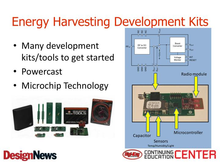 Energy Harvesting Development Kits