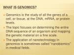 what is genomics