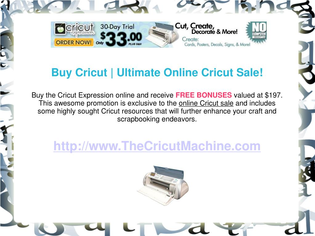 Buy Cricut | Ultimate Online Cricut Sale!