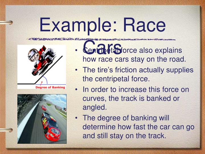 Example: Race Cars