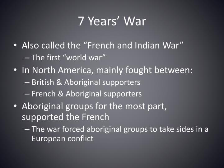 7 Years' War