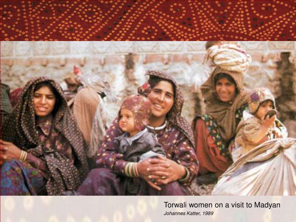 Torwali women on a visit to Madyan