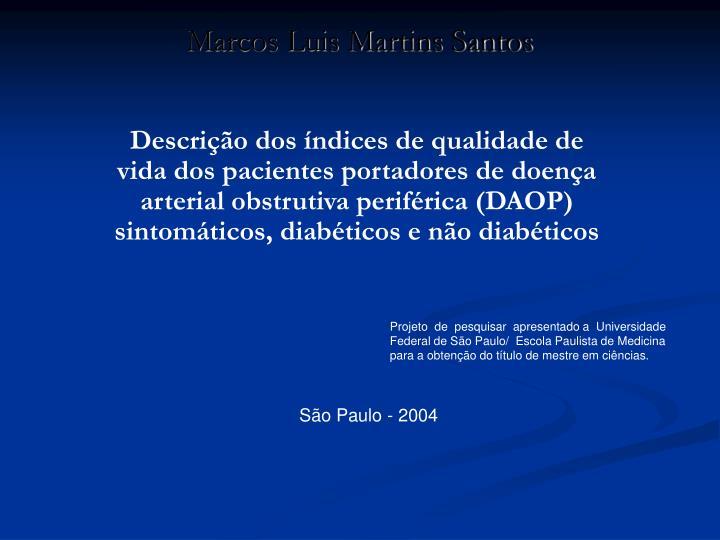 Marcos Luis Martins Santos
