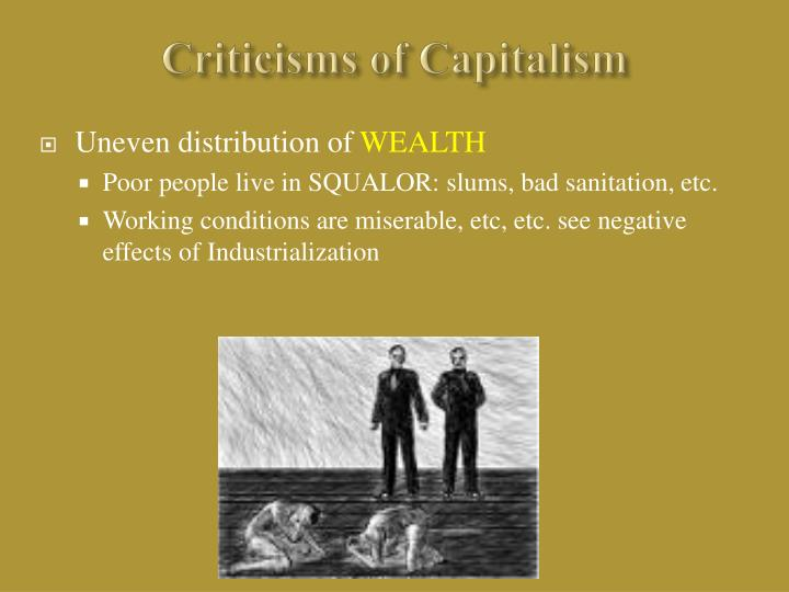 Criticisms of Capitalism