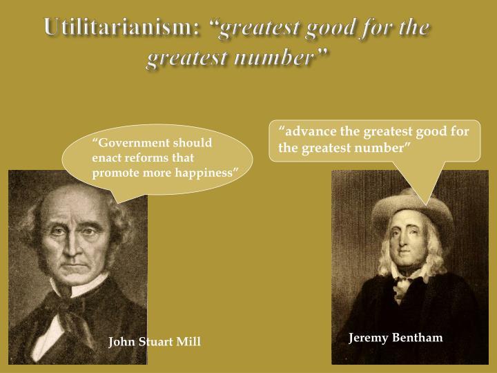 Utilitarianism: