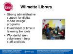 wilmette library